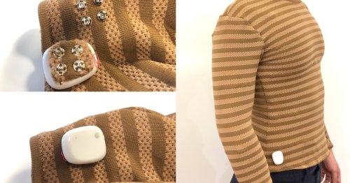 MIT's electronic shirt tracks wearers' vitals