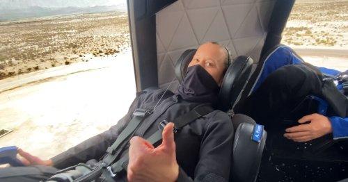 Blue Origin rehearses for passengers during latest capsule test flight