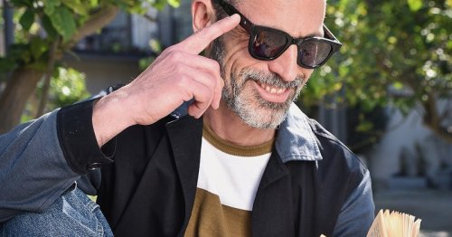 Touch-sensitive LCD sunglasses become reading glasses on command