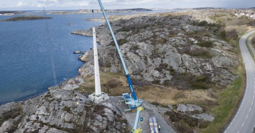 Sweden welcomes its first wooden wind turbine tower