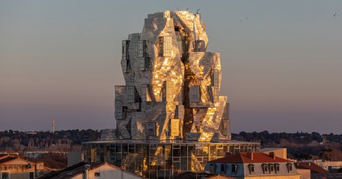 Frank Gehry twists steel into Van Gough-inspired tower