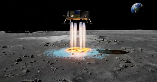 FAST lets lunar landers make their own landing pads pre-touchdown