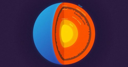 Massive mountain range found in the Earth's mantle