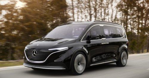 Mercedes Concept EQT minivan launches all-electric micro-adventures