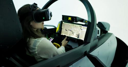 Bionic Display cuts computing power for flight simulator mixed reality
