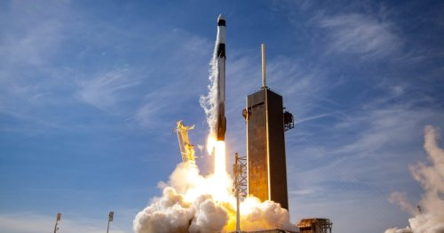 SpaceX launches upgraded Dragon capsule with extra cargo space