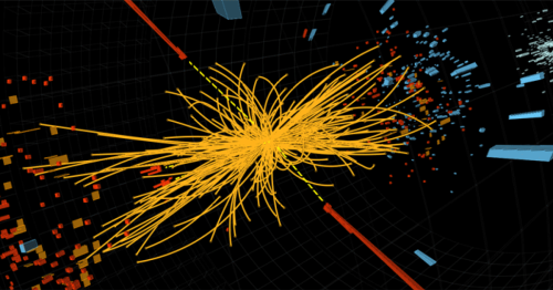Higgs boson examined as source of dark matter at the LHC
