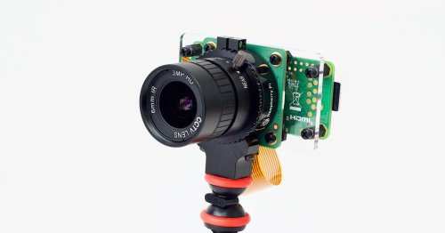 Pi Zero W and HQ camera module used as cheap webcam