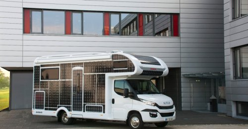 Dethleffs experiments with all-electric, solar-backed motorhome