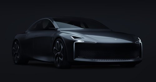 Hopium rolls out a prototype of its handsome hydrogen-powered sedan