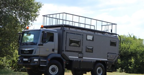 Turkish overland RV lives and works far from the hordes