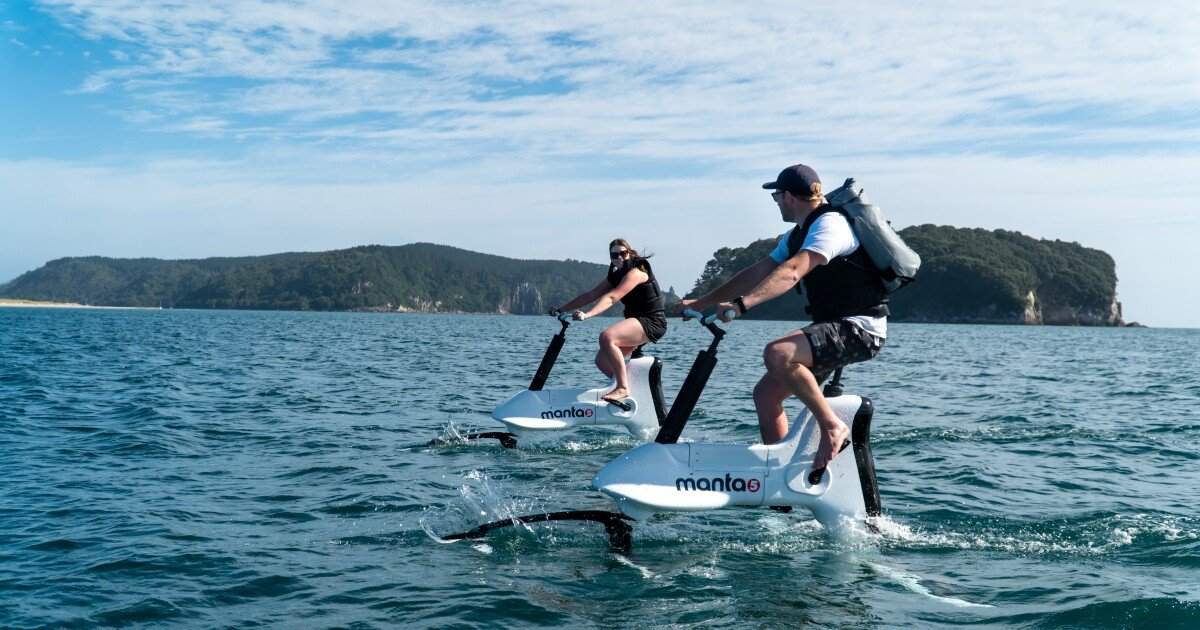 Manta5 Hydrofoil ebike begins production, with more models planned