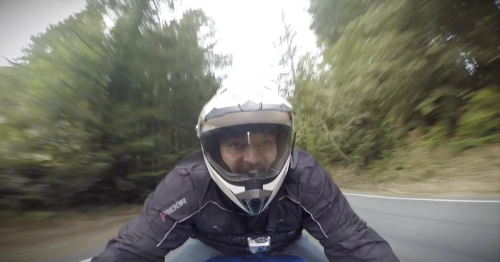Video: a wild ride on the Lightning LS-218 electric superbike