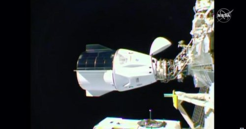 SpaceX's Crew Dragon delivers four astronauts to the ISS