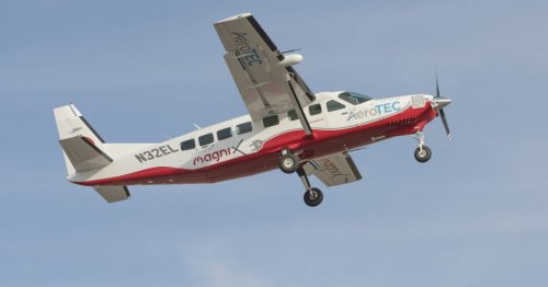 Electric Cessna lifts off as the world's largest zero-emission aircraft