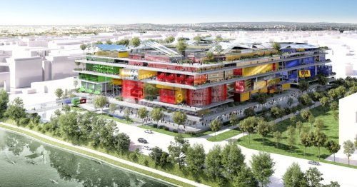 Massive mixed-use development to bring a rainbow of color to Paris