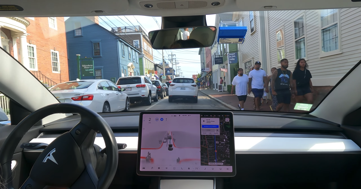 Tesla's new Full Self Driving beta 9.0 still looks a bit too exciting