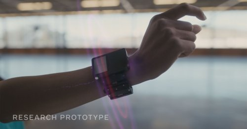 Facebook's upcoming AR wrist controllers will hijack your nerves