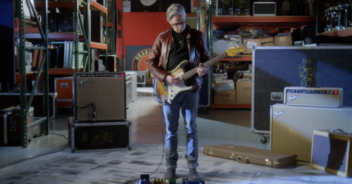 Custom Shop recreates Mike McCready's extremely road-worn vintage Strat