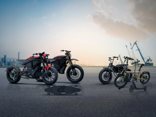 Startup launches three electric rides, reveals motorcycles in development