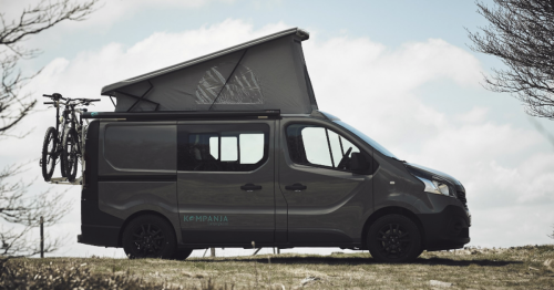 Slick, versatile camper van becomes a camp-in movie theater