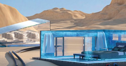 Sunlight and salt water join forces in electricity-free cooling system