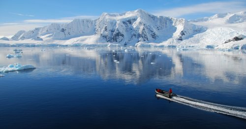 Microplastics show up in Antarctic sea ice for the first time