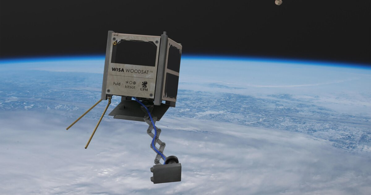 World's first wooden satellite to launch later this year