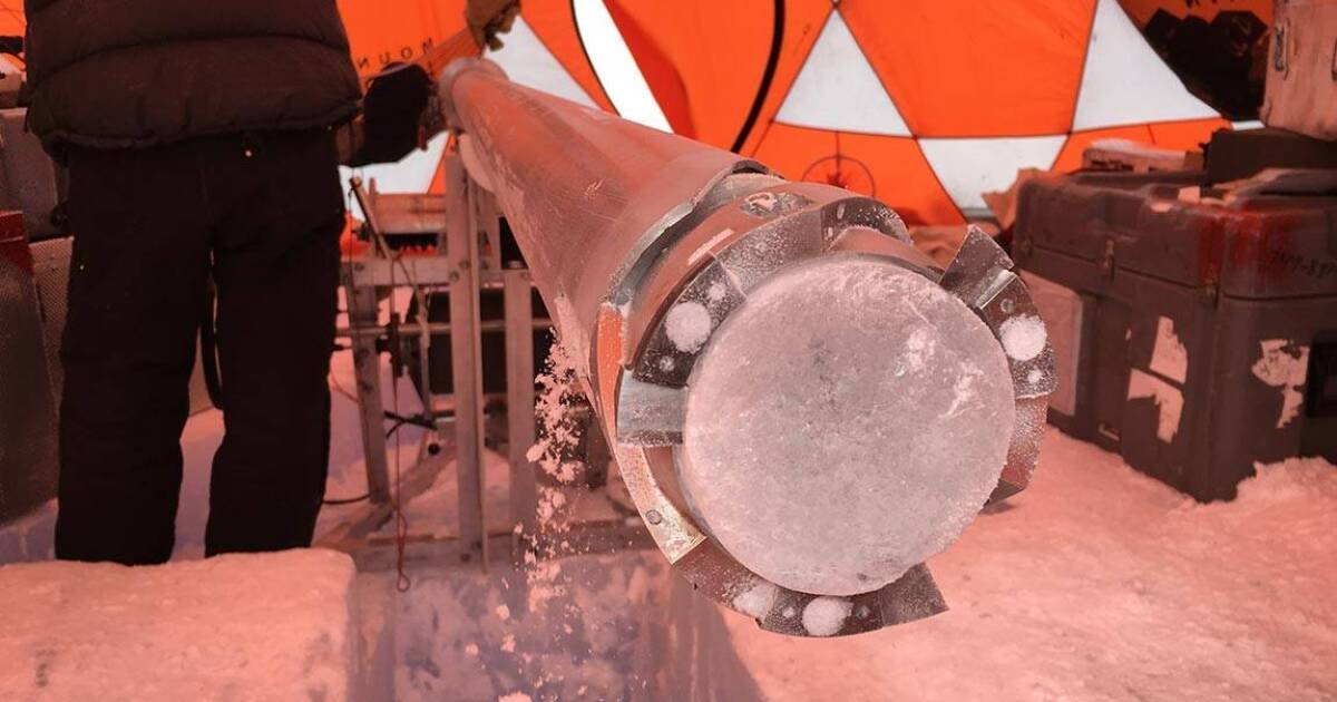 Oldest ice-core ever drilled dates back 2.7 million years