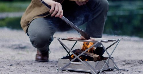 Ultraportable cook system turns campfires into backcountry kitchens