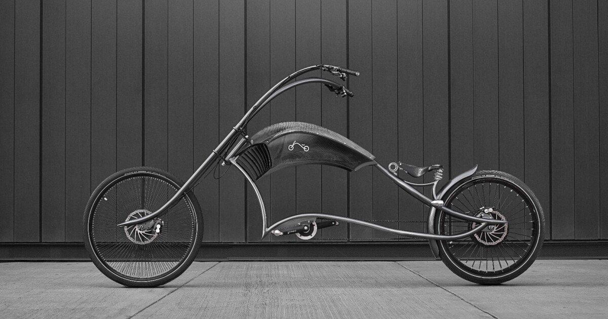 Archont electro gives e-bikes the custom-chopper treatment