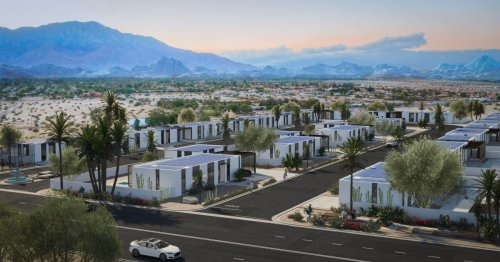 """Panelized"" 3D-printed homes to form sustainable estate in California"