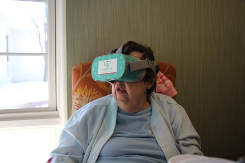 Nursing Homes Use Virtual Reality Tech to Help Residents Cope with Isolation - New Brunswick Today   New Brunswick, NJ Local News