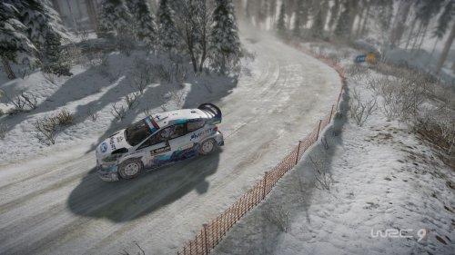 WRC 10 in development