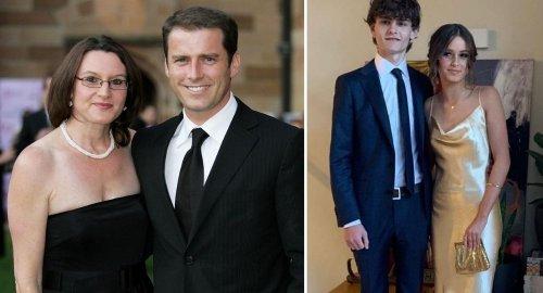 Karl Stefanovic's daughter Willow STUNS at school formal