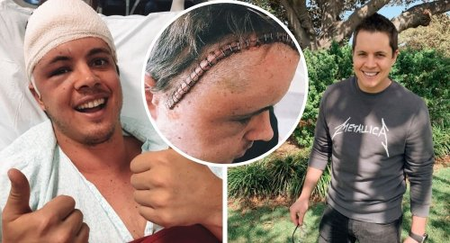 Inside Johnny Ruffo's courageous cancer battle