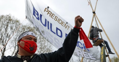 Why Hasn't Biden Canceled the Dakota Access Pipeline Yet?