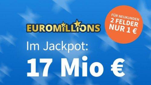 EuroMillions-Ziehung, 15.06.2021: Am Dienstag geht es um 17 Millionen Euro – Jetzt 5 € Rabatt sichern!