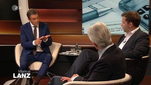 """""""Markus Lanz"""" im ZDF: """"Das macht man nicht!"""" Lanz unterbricht Gast - und erntet Rüffel"""