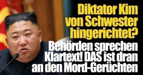 Todes-Gerüchte um Kim Jong-un: Diktator von Schwester hingerichtet? Behörden sprechen Klartext