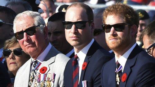 Prinz Charles und Prinz William: Ohrfeige für Prinz Harry! DIESE Botschaft spricht Bände