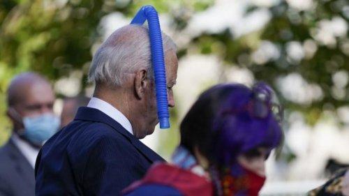 Joe Biden: Voll daneben! US-Präsident vergisst Corona-Regeln
