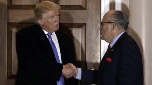 Donald Trump: Ex-Anwalt Rudy Giuliani verkauft nach Trump-Trennung Privat-Videos