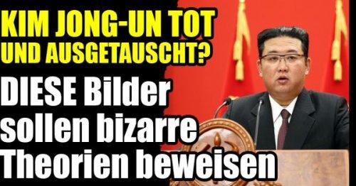 Kim Jong-un: Diktator tot und ausgetauscht? DIESE Bilder sollen bizarre Theorien beweisen