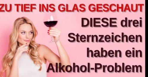 Astrologie und Alkoholgenuss: Prost! DIESE Sternzeichen haben ein Alkoholproblem