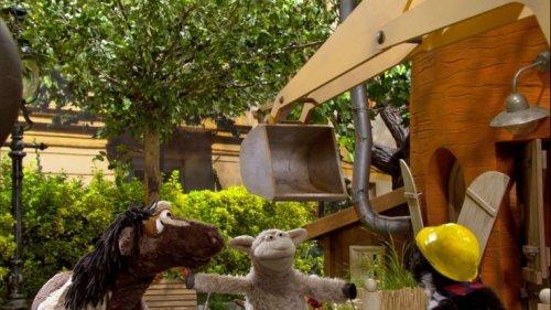 """""""Sesamstraße präsentiert: Eine Möhre für Zwei"""" bei KiKa im Livestream und TV: Episode 145 aus Staffel 8 der Puppentrickserie"""