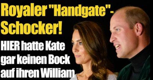 Kate Middleton: Eiskalt abserviert! HIER hat Herzogin Kate gar keinen Bock auf William