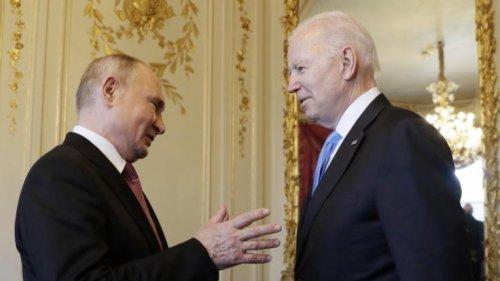 """Joe Biden: """"Verzweifelt und gefährlich""""! Biden warnt vor Krieg mit Putin"""