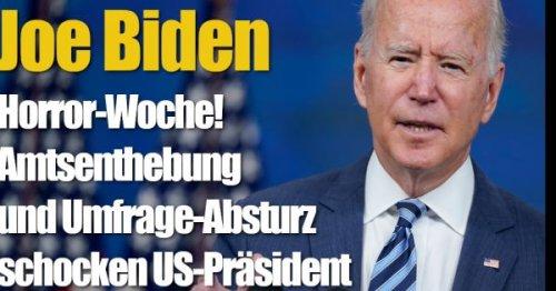 Joe Biden: Horror-Woche! Amtsenthebung und Umfrage-Absturz schocken US-Präsident