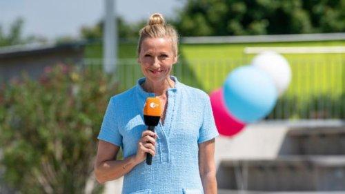 """""""ZDF-Fernsehgarten"""" am 23.05.2021 heute: Sitzengelassen! Andrea Kiewel wieder solo"""